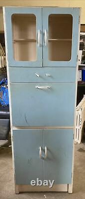 1950s 1960s Retro Vintage Kitchen Dresser Cabinet Unit Larder Pantry Cupboard