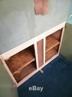 1950s Blue Kitchen Cabinet