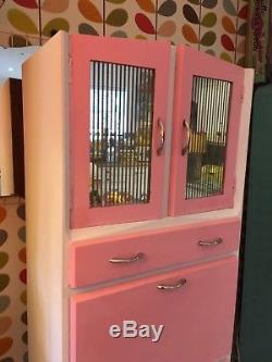 1950s Original Vintage Retro Pantry Larder Unit Kitchen Cupboard Cabinet