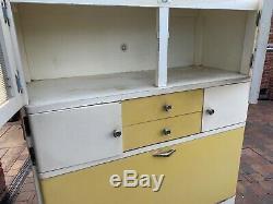 1950s Retro Vintage Kitchen Dresser Cabinet Unit Larder Pantry Cupboard