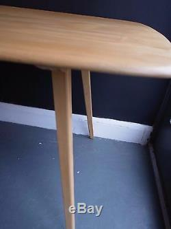 1970s Ercol'plank' dining table