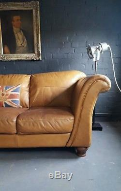 331 Chesterfield Vintage 3 seater leather Club Courier available
