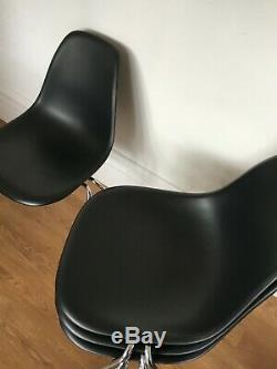 4 GENUINE CHARLES EAMES DSS CHAIRS FOR VITRA kitchen dining retro designer