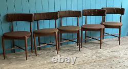 4 G Plan Koford Larsen Mid Century Retro Teak Dining Kitchen Chairs DELIVERY