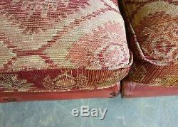 5009. Superb Tetrad Eastwood Grande 3 Seater Sofa Vintage Chesterfield rrp £2500
