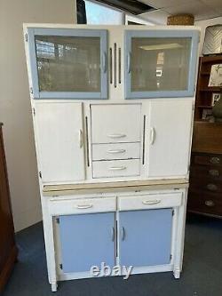 50s Vintage Retro kitchen larder Built-in Table