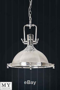 Anton-Large industrial retro pendant kitchen hallway light 40 cm