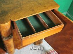 Art Deco Sideboard, Cabinet, Walnut, Vintage, Lounge, Kitchen, Bedroom