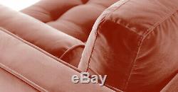 Brand New Harper Scott Vintage Pink Velvet 3 Seater Sofa RRP £999 -Save £££