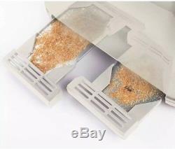 Breville VTT702 Impressions 4 Slice Slot Toaster Cream