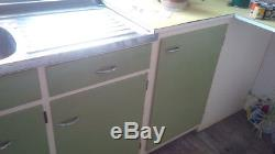 Easiclene 1950's retro / vintage kitchen unit / cupboard