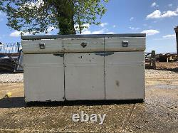 English Rose Kitchen Sink Unit, 1950-60, Retro, Kitchen, Basin, Aluminium Sink