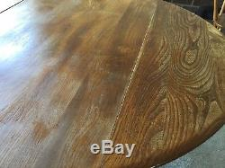 Ercol Drop-Leaf Table and 4 chairs