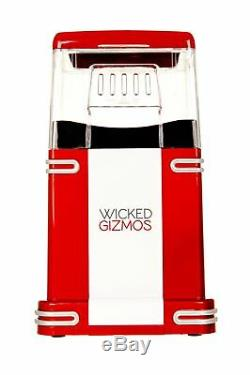 FAT-FREE HOT AIR POPCORN MAKER / POPCORN POPPER MACHINE RETRO 50's STYLE