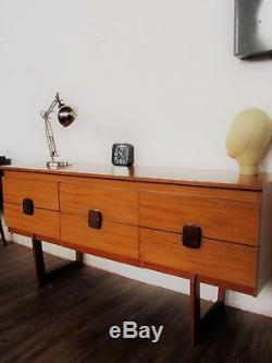 Fab G Plan era Mid Century Retro Teak Formica sideboard drawers dressing table