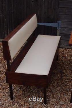 Fabulous Vintage Retro Kitchen Diner Set Table, Bench & Two Chairs Unique