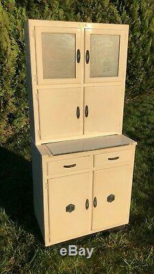 Fantastic Vintage Antique Retro Wooden Kitchen Cupboard Sideboard Unit