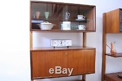 Free Standing Royal' Shelving Unit / Bookcase / Writing Desk / Cocktail Cabinet