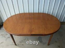 G Plan Teak Vintage Retro Large Extending Dining Kitchen Table Uk Delivery