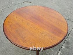 G Plan Vintage Fresco Extending Circular Table 4 Chairs
