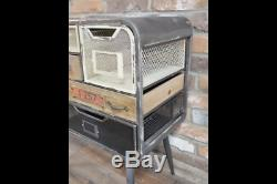 Industrial 7 Drawer Vintage Style Funky Quirky Cabinet Storage Unit Originality