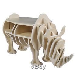 Industrial Style Coffee Table Vintage Retro Furniture Wooden Room Storage Shelf
