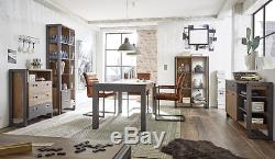 Industrial Style Dining Table Vintage Kitchen Furniture Large Wooden Retro Room