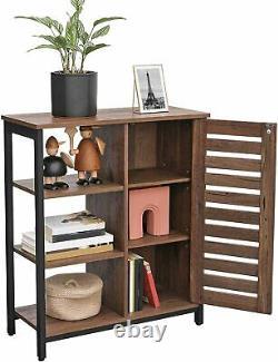Industrial Style Storage Cabinet Cupboard Unit Small Slim Sideboard Vintage