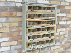 Industrial Vintage Wall Cabinet Cupboard Storage Shelves Unit Chest Of Drawers Z