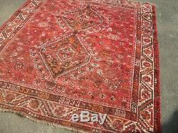 John lewis pers ian large antique vintage rug carpet wool 163cm x 196cm