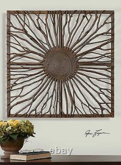 Josiah XXL 27 Natural Wood Branches Decorative Wall Art Decor Uttermost