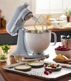KitchenAid Limited Edition 5-Quart Heritage Artisan Mixer Misty Blue