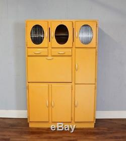 Large Vintage Kitchen Cabinet, Retro, Mid Century, Storage, Cupboards, Refurb