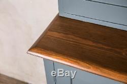 Large Vintage Kitchen Cupboard Haberdashery For Big Kitchen, Pantry F&b Downpipe