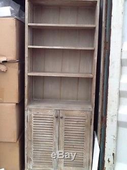 Loaf kitchen cabinet/shelf unit, reclaimed fir, new rrp £ 745.00