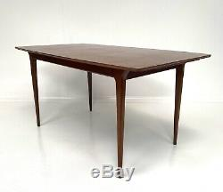 MCINTOSH VINTAGE RETRO TEAK EXTENDING KITCHEN DINING TABLE 1960s Danish Style
