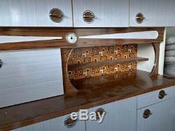 Mid Century Arthur Bonnet Formica Kitchen Unit Retro Vintage 1960/1970 French
