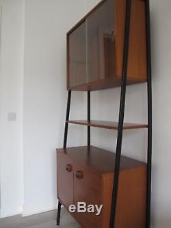 Mid Century Teak Display Cabinet