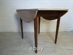 Mid Century Vintage Drop Down Retro Extendable Folding Retro Formica