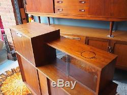 Mid Century Vintage Retro Teak Cocktail Drinks Cabinet UK DELIVERY AVAILABLE