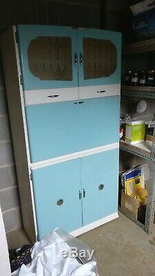Original Retro Vintage Shefco Kitchen Larder Cupboard