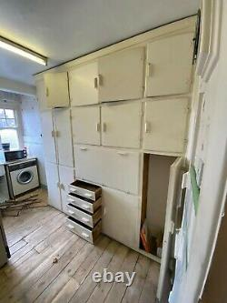 Original Vintage kitchen cupboards from 1930's property