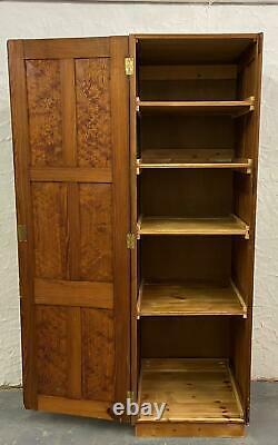 Pitch Pine Vintage Cupboard/Kitchen Larder Cupboard Storage