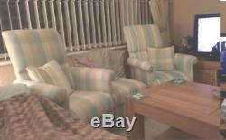 Prestigious Verve Berry Red Fabric Chair Armchair Retro Diamonds Vintage Style