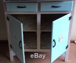 REDUCED 1950's Retro/Vintage Trade Mark Ladylove Kitchen Cabinet Colwyn Bay