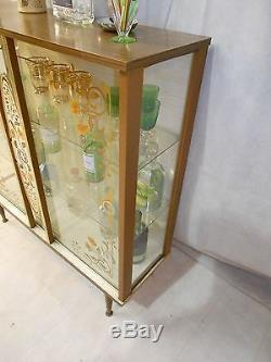 RETRO 50s 60s COCKTAIL CABINET VINTAGE HOME BAR DRINKS CABINET DRINKS BAR