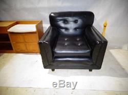RETRO 50s 60s EASY CHAIR MID CENTURY LOUNGE CHAIR MID CENTURY UPHOLSTERED CHAIR