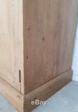 Reclaimed Pine Vintage Larder /Linen Cupboard