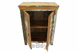 Reclaimed Sideboard Cupboard Vintage Wood Door Bathroom Cabinet FREE DELIVERY