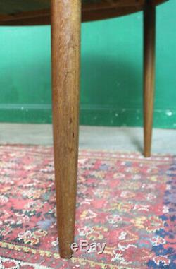 Retro G Plan Dning Table, Fresco, Teak, Round, Extending, Kitchen, Vintage